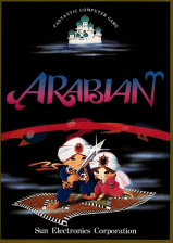 Arabian Coin Op Arcade cover artwork