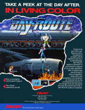 Bay Route Coin Op Arcade cover artwork