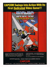 Bionic Commando Coin Op Arcade cover artwork