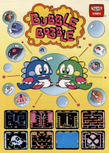 Bubble Bobble Coin Op Arcade cover artwork