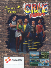 Crime Fighters Coin Op Arcade cover artwork