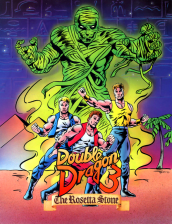 Double Dragon 3 - The Rosetta Stone Coin Op Arcade cover artwork