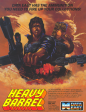 Heavy Barrel Coin Op Arcade cover artwork