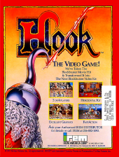 Hook Coin Op Arcade cover artwork