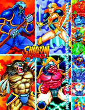 Shadow Force Coin Op Arcade cover artwork