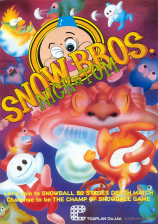 Snow Bros Coin Op Arcade cover artwork