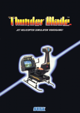 Thunder Blade Coin Op Arcade cover artwork