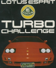 Lotus Esprit Turbo Challenge Commodore Amiga cover artwork