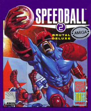 Speedball 2 - Brutal Deluxe Commodore Amiga cover artwork