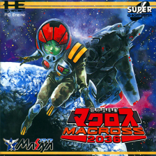Choujikuu Yousai Macross 2036 NEC PC Engine CD cover artwork