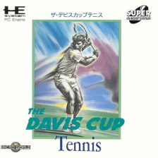 David Cup Tennis, The NEC PC Engine CD cover artwork