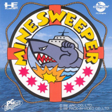 Mine Sweeper NEC PC Engine CD cover artwork