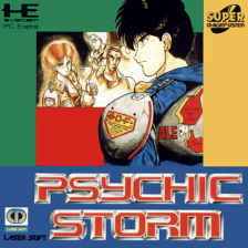 Psychic Storm NEC PC Engine CD cover artwork