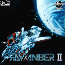 Rayxanber II NEC PC Engine CD cover artwork