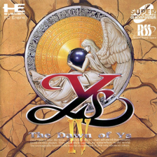 Ys IV - The Dawn of Ys NEC PC Engine CD cover artwork