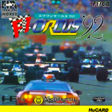 F1 Circus '92 - The Speed of Sound NEC PC Engine cover artwork