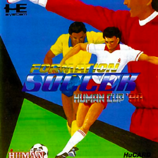 Formation Soccer - Human Cup '90 NEC PC Engine cover artwork