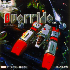 Override NEC PC Engine cover artwork