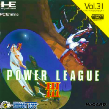 Power League III NEC PC Engine cover artwork