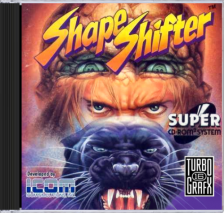Shape Shifter NEC TurboGrafx 16 CD cover artwork