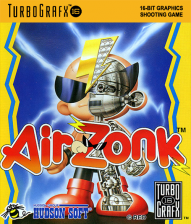 Air Zonk NEC TurboGrafx 16 cover artwork