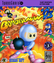 Bomberman '93 NEC TurboGrafx 16 cover artwork