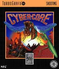 Cyber Core NEC TurboGrafx 16 cover artwork