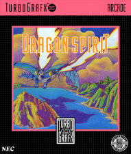 Dragon Spirit NEC TurboGrafx 16 cover artwork