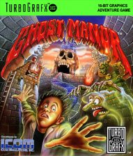 Ghost Manor NEC TurboGrafx 16 cover artwork
