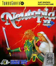 Neutopia II NEC TurboGrafx 16 cover artwork