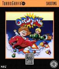 Ordyne NEC TurboGrafx 16 cover artwork