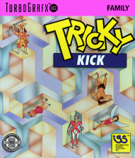 Tricky Kick NEC TurboGrafx 16 cover artwork