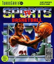 TV Sports Basketball NEC TurboGrafx 16 cover artwork