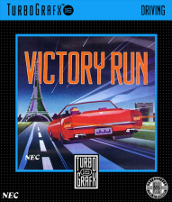Victory Run NEC TurboGrafx 16 cover artwork