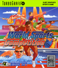World Sports Competition NEC TurboGrafx 16 cover artwork