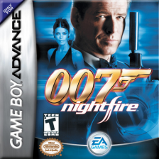 007 - NightFire Nintendo Game Boy Advance cover artwork