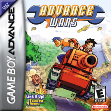 Advance Wars Nintendo Game Boy Advance cover artwork
