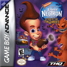 Adventures of Jimmy Neutron Boy Genius, The - Attack of the Twonkies Nintendo Game Boy Advance cover artwork