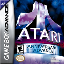 Atari Anniversary Advance Nintendo Game Boy Advance cover artwork