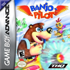 Banjo Pilot Nintendo Game Boy Advance cover artwork
