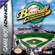 Baseball Advance Nintendo Game Boy Advance cover artwork
