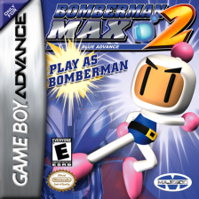 Bomberman Max 2 - Blue Advance Nintendo Game Boy Advance cover artwork