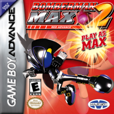 Bomberman Max 2 - Red Advance Nintendo Game Boy Advance cover artwork