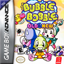 Bubble Bobble - Old & New Nintendo Game Boy Advance cover artwork