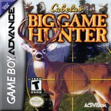 Cabela's Big Game Hunter Nintendo Game Boy Advance cover artwork
