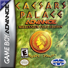 Caesars Palace Advance - Millennium Gold Edition Nintendo Game Boy Advance cover artwork