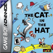 Cat in the Hat by Dr. Seuss, The Nintendo Game Boy Advance cover artwork