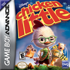 Chicken Little Nintendo Game Boy Advance cover artwork