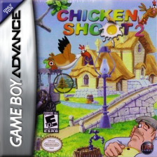 Chicken Shoot 2 Nintendo Game Boy Advance cover artwork