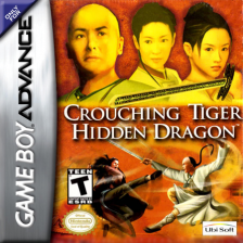 Crouching Tiger, Hidden Dragon Nintendo Game Boy Advance cover artwork